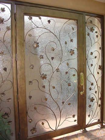 bedroom windows metallic faux painting  glass