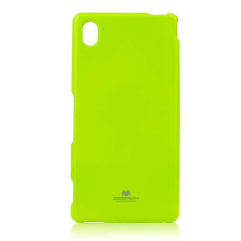 Mercury Jelly Casing For Sony Xperia M Lime puzdro jelly mercury pre sony xperia m4 aqua e2303 lime