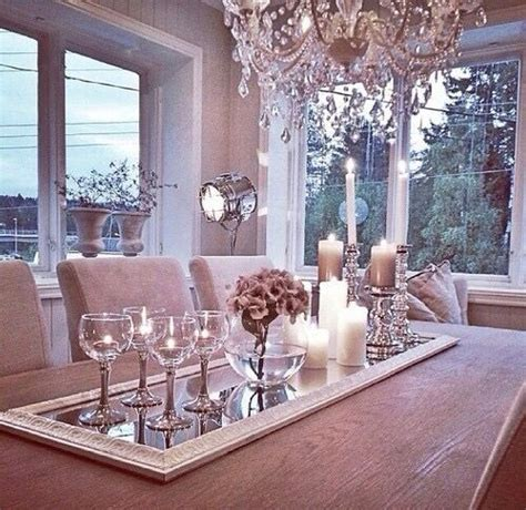 Table Top Home Decor by 10 Best Ideas About Dining Table Decorations On