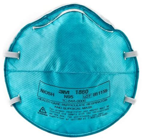 Masker N95 3m health care particulate respirator and surgical mask