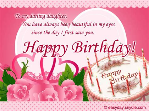 Lovely Happy Birthday Wishes Quotes Lovely Birthday Wishes For Daughters Happy Birthday