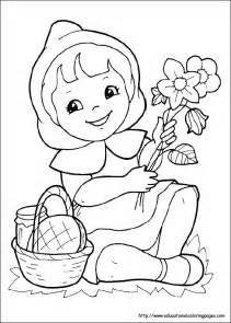 free red riding hood wolf coloring pages