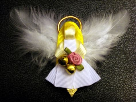 hairbows with ribbon sculpture pinterest angel ribbon sculpture hair bow clippie holidays