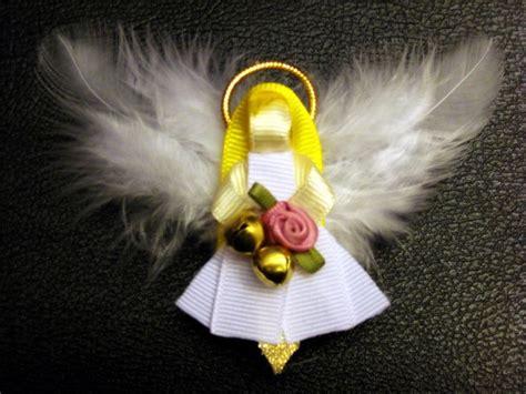 how to make ribbon sculpture hair bows angel ribbon sculpture hair bow clippie holidays