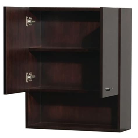Espresso Bathroom Wall Cabinet by Bathroom Wall Cabinet By Wyndham Collection