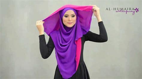 Tutorial Hijab Humaira | lujaa shawl styling tutorial by al humaira contemporary