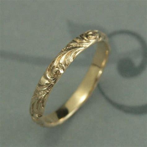 pattern gold wedding ring yellow gold wedding band florence women s gold wedding