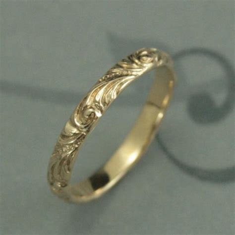 antique wedding ring the elegance yellow gold wedding band florence s gold wedding