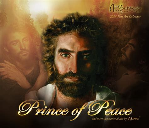 Prince Of Peace Picture Of Jesus 2015 prince of peace wall calendar by akiane