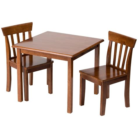 toddler table and chairs affordable brown wood toddler table and 2 chairs set