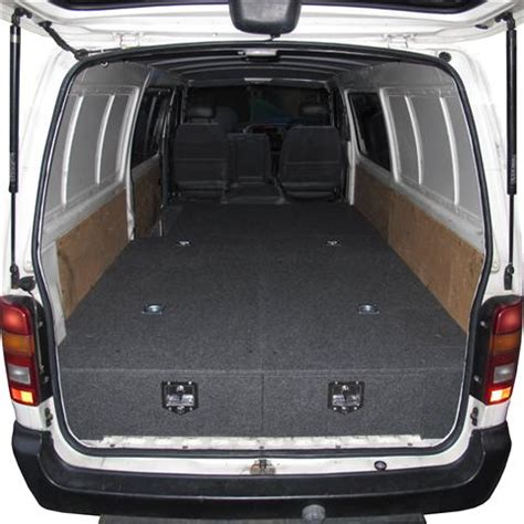 Toyota Hiace Interior Dimensions Car Consoles 4wd Storage Drawers Department Of The