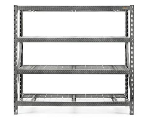 new gladiator tool free heavy duty shelving rack