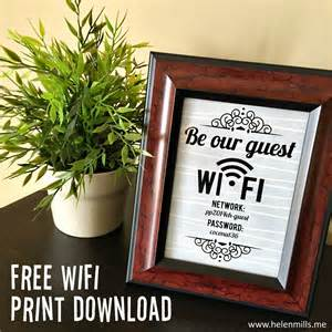 Guest Bedroom Wifi Sign What Happened Next Guest Wifi Print