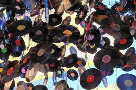 Vinyl Record Decorations by Vinyl Reborn Records Recycled As Purses Decor And