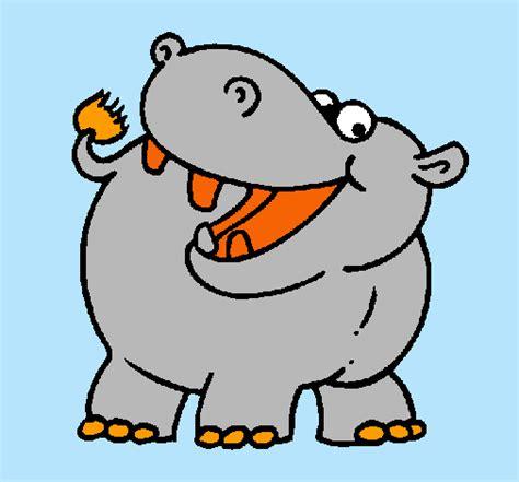 Un Sas D Entrée 579 by Dibujo De Un Hipopotamo A Color Imagui