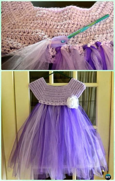 pattern tutu dress kassia empire waist crochet tutu tulle dress crochet