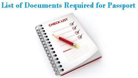 Documents Needed For Passport Renewal