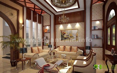 stunning 3d home living room design view yantram