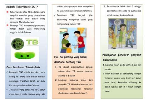 contoh format askep tb paru leaflet tbc akper muna 2