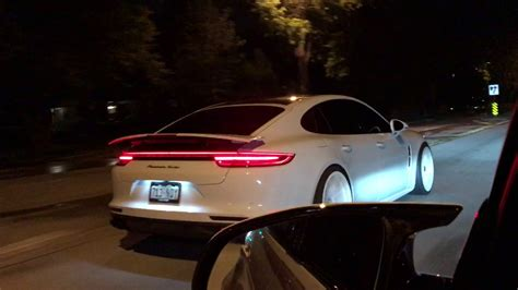 porsche panamera 2017 white 2017 porsche panamera turbo with white wheels youtube