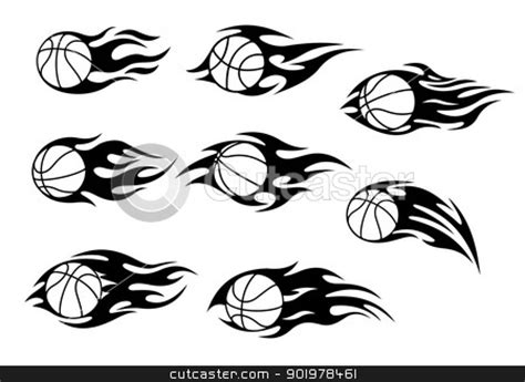 basketball tribal tattoos images designs