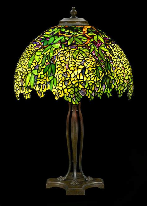 Christie Lamps by A Tiffany Studios Laburnum Table Lamp Led The Way At