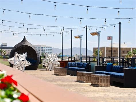 top bars in phoenix 6 rooftop bars elevated patios to check out around phoenix abc15 arizona