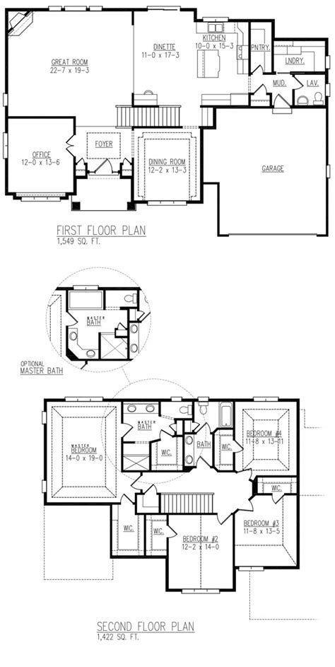 brentwood floor plan affordable home builder in wisconsin and milwaukee allan builders brentwood home plan