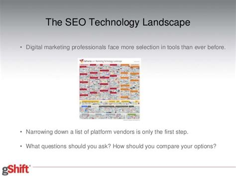 Seo Technology by The Seo Technology Buying Process