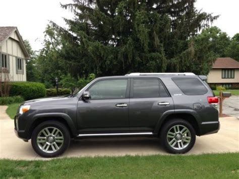 toyota 4runner with 3rd row seating for sale purchase used 2013 toyota 4runner limited suv third row
