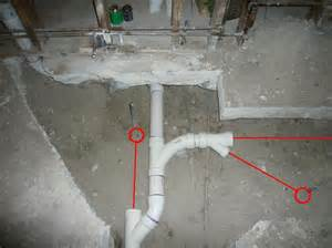 moving plumbing a concrete slab how to build a house