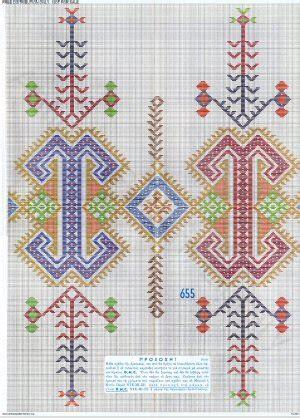 antique pattern library dmc apl e ak004 dmc greek publicity patterns overview page