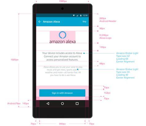 Tv Mobil Splash avs ux setup and authentication voice service
