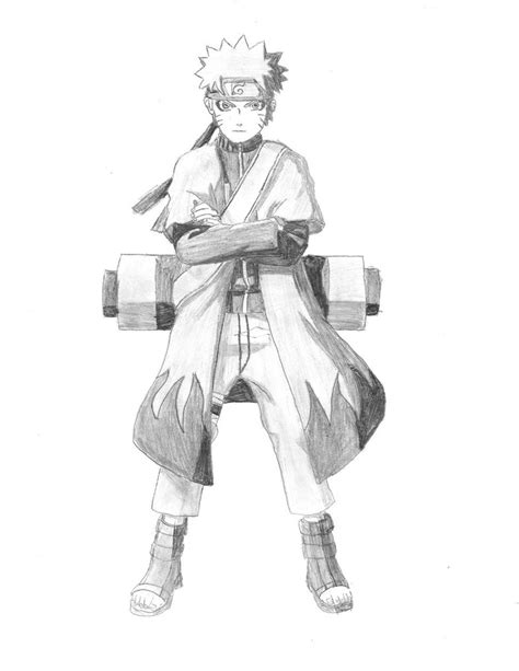 Tempat Pensil Pencil Anime Shippuden Uzumaki mode by screwston12 on deviantart