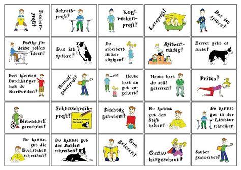 Etiketten Aufkleber Schule by Lobheft Und Passende Aufkleber Quot Schule Quot Luckys Shop