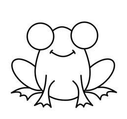 draw cartoons frog