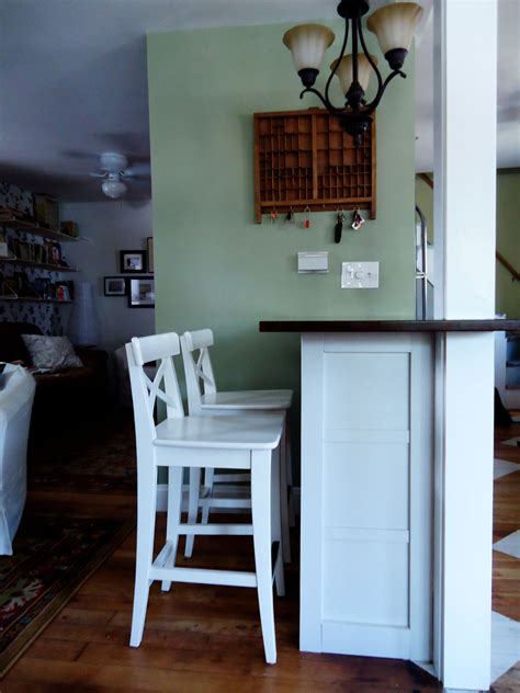 Kitchen Bar Ideas Diy by Diy Breakfast Bar Jessepeckwrites