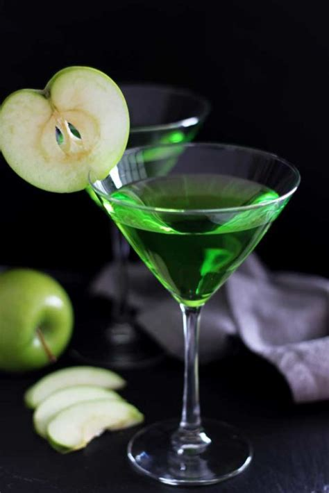 green apple martini recipe how to green apple martini