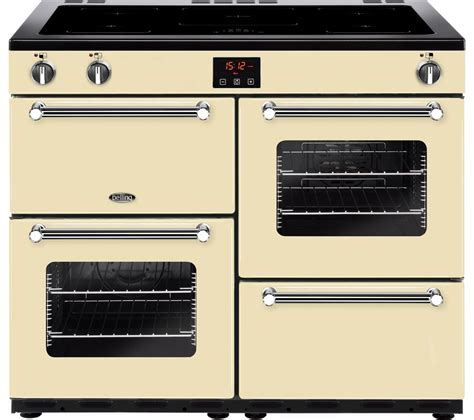 induction cookers belling buy belling kensington 100ei crm 100 cm electric induction range cooker chrome free