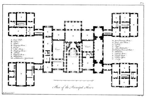 Parliament House Floor Plan by File Plan Of Holkham Hall Png Wikimedia Commons