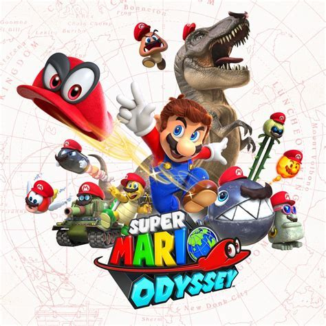 Super Mario Odyssey: E3 2017 trailer, 3 amiibo, screens