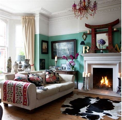 frames  corner eclectic decor colors