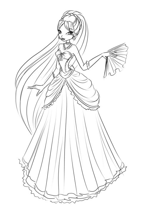 com sketch diana ball dress by laminanati on deviantart