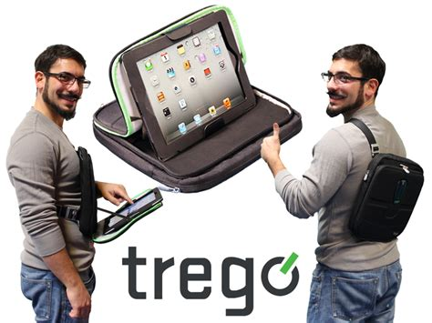 Trego The Wearable Ipad Case By Ramsey Elias Kickstarter Wearable Laptop Desk