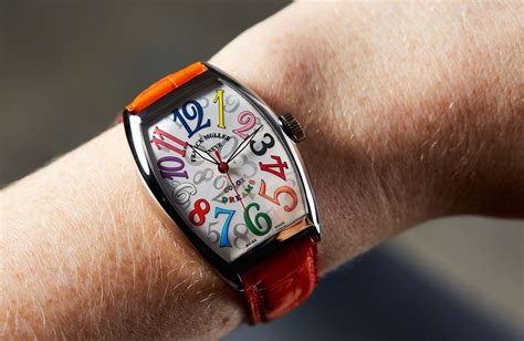 on hoisting the high spirits flag with the franck muller color dreams time and tide watches