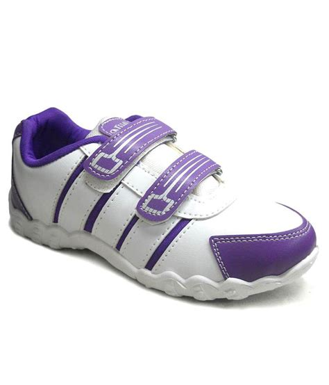 Light Purple Shoes by Fast Trax Light Purple And White Sports Shoes Price