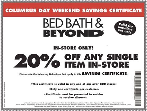 bed bath beyond 20 percent coupon 16 best images about bed bath beyond coupons on pinterest