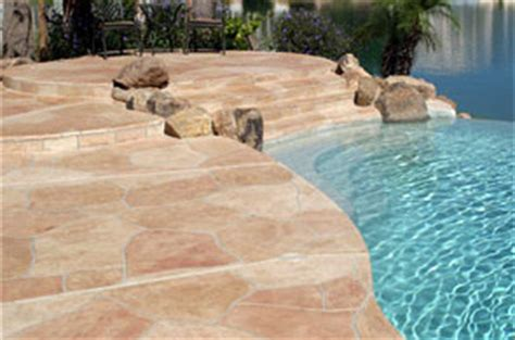 flagstone pool deck coatings  repair az creative