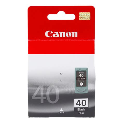 Cartridge Original Canon Pg40 Black Bekas canon pg 40 black ink cartridge genuine inkdepot