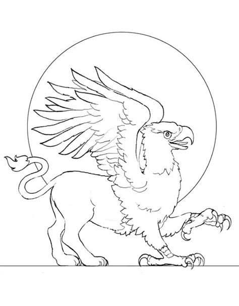 Free Cute Griffin Coloring Pages Griffin Coloring Pages